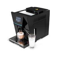 Máquina de café inteligente de cafeteira totalmente automática de cappuccino, com leite crother para café expresso, latte, amercino