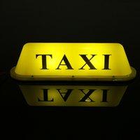 ماء تاكسي المغناطيسي قاعدة سقف الأعلى سيارة كابينة الصمام إشارة ضوء مصباح للسائقين