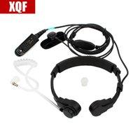 Walkie Talkie 10-st Justerbar Finger Pthroat Control Headphone Air Tube för Motorola GP328 GP338 gp339 gp340 gp329 gp320