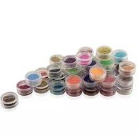 45 colora il mini polvere temporanea luccichio del diamante di scintillio pittura per la decorazione fai da te Nail Shinning tatuaggio del Corpo Art Design
