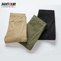 Haute Qualité 3 Couleurs Pantalon décontracté Hommes Joggers Tactiques Cargo Pantalons Multi-poche Fashions Pantalon masculin vert noir