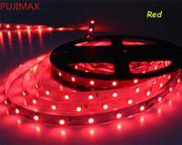 50м теплые белые светодиодные полосы 3528 не водонепроницаемый свет 12V 300LEDS 60LEDS / M для дома крытый освещение белый синий белый желтый красный зеленый