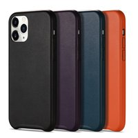 Genuine Leather Luxury Case For iPhone 12 11 XS Max XR XS 8 7 Plus Shockproof Protect Cover