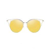 70% скидка UanView (Uanview Женщины Новые моды поляризованные металлы Красочные Полые солнцезащитные очки WD0874