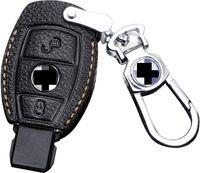 FOB Клавичный чехол Cover Cover Kidchain для Mercedes Benz A B C R S V CLAS CLA CLS GLA GLC GLE GLLS SLC SLC GL GL SLK (тип D, черный)