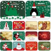حصيرة في مدخل المطبخ المطاط ممسحة مرح عيد الميلاد الغزلان ترحيب ديكور المنزل غرفة المعيشة البساط المضادة للانزلاق الغبار السجاد tatami1