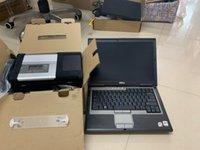 MB Star C5 V03 / 2021 Ultimo software in Harddisk Computer usati Laptop D630 SD Compact 5 per auto e camion Strumento diagnostico OBD