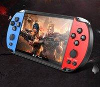 لعبة اللاعبين المحمولة X7 بلس كاميرا كاميرا HD أفلام مزدوجة الروك 8 جرام فيديو فيديو قابلة للشحن المحمولة VS 821 660 X12 X40