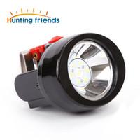 Caça Amigos Mineração de mineração KL2.8LM Recarregável Aranha de mineração de mineração de mineração luz À Prova D 'Água Hard Hard Chapéu Lâmpada LED Farol
