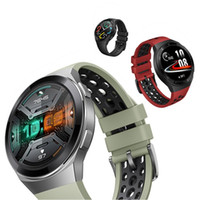 Original Huawei Uhr GT 2E Smart Watch-Telefonanruf Bluetooth GPS 5ATM Sport Tragbare Geräte Smart Armbanduhr Gesundheit Tracker Smart Armband