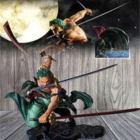 Anime One Piece WA NO KUNI GARAGE Kit 3000 World Zoro Battle Портрет пиратов Отличные модели игрушки для детей подарки
