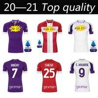 2020 2021 Fiorentina Soccer Jersey 20 21 Firenze Ribery Cutrone Pulgar Pezzella Vlahovic Milenkovic Chiesa Camicia da calcio