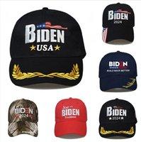 Biden 2024 Hat Presidential Election Cotton Baseball Cap Adjustable Build Back Better Biden Harris Outdoor Ball Cap DDA835
