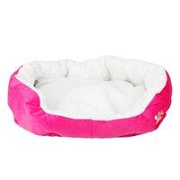 Cotone Pet Waterloo caldo con pad rosa s size Dog Case cani Kennel Accessori Pet Dog Forniture