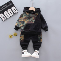 Kids Baby Girl Clothing Set Camouflage Sweatshirt Hoodie Top...