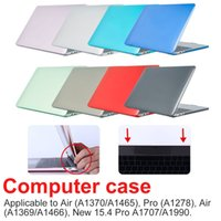 Neue Crystal Matt-Hülle für Laptop-Hülle AIR PRO RETINA11 12 13 15 16 Zoll Hülle für 2020 NEUE PRO13 A2251 A2289 A2179