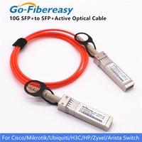 SFP + 10 Go Câbles optiques actifs SFP-10G-AOC1M Cables AOC compatibles pour Cisco Ubiquiti Mikrotik Zyxel Câbles optiques actifs