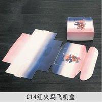 20 unids Caja de papel floral artesanía hecha a mano joyería de joyería regalo de boda caja de envasado 20pcs artículos florales con precio h jllztw