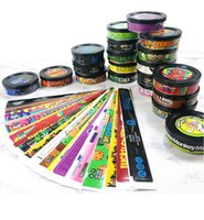 25 flavors Tin Cans sticker mixed Suitable for 3.5 gram Tin can 73.3*24mm Tuna Tin dry herb flower Container with Stickers
