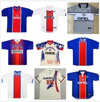 90 92 Retro Paris Anelka Okocha WEAH Fussball Jersey 06 07 12 13 93 94 95 96 98 99 Ibrahimovic Classic Football Shirt