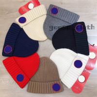 Высокое качество для подарка 2020 Канада дизайнер мужских женщин Череп шапки шансы капота зимние мужчины вязаные шапки кепки теплые шляпы дюрги шапочки Gorros