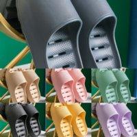 6E3J Kış Pamuk Terlik Ayakkabı Kış Giymek PVC ALL-EYE YAŞI DOĞU YARIM DENER YENI MOP Terlik Kapalı Yün Kadınlar kadın