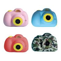 كاميرا الأطفال d6 هدية عيد 2.0 بوصة 2600 واط لطيف الحيوان الاطفال تسجيل الفيديو كاميرات مزدوجة الرقمية