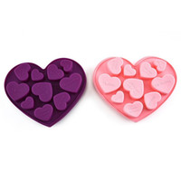 Silicon Chocolate Molds Heart Shape English Letters Cake Cho...