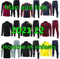 Hommes Tracksuit Hommes Designer Tracksuits Soccer Tracksuit 20 21 Football Football Version Player Version Survalement Foot Chandal Futbol