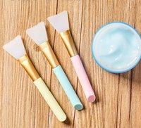 Silikongesichtsmaske Pinselmaske Schönheit Werkzeug Weiche Silikon Gesichtsmaske Applikator Haarlose Körperlotion und Body Butter Applicator Tool