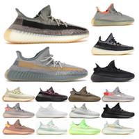 Yeezy 350 V2 Running shoes Kanye West Eliada Carbon Zyon Yecheil Black Zebra كريم أبيض رجل إمرأة الاحذية الرياضية حجم كبير des chaussures 13
