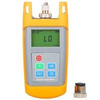 Faseroptikausrüstung Handheld AUA-7010/5026 Multimeter-Leistungsmessgerät-TESTER -50 ~ + 26 dBm, mit FC SC-Stecker kabelgebundener CATV