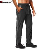 MagComsen Летние щипцы мужские легкие быстрые сухие спортивные брюки спортивные гимнастические бодибилдинг бегущий трек брюки тренировочные штаны