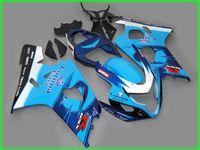 Custom 1000% Fit Injecção Molde Azul Black Ad43 Kit de Feira para 2004 2005 Suzuki GSXR 600 750 K4 GSXR600 GSXR750 04 05 GSX R750 Fairings