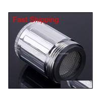 Светодиодная вода Tap New Fashion 3 Цветная вода свечение крана Светодиодный кран света датчик температуры Большинство крана кухня BA JLLVPI INSYARD