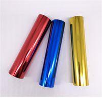 80m / rotolo oro argento timbro caldo stampa rotoli di carta per laminatore trasferimento di calore sulla stampante laser carta fai da te carta artigianale 12.6 jlljdt