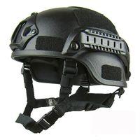 Qualidade Lightweight Rápido Airsoft MH Capacete Ao Ar Livre Painel Tático CS Swat Riding Protect Equipamento 4 NH283