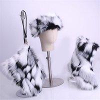 Stiefel Winter Frauen Imitation Knöchel Pelz Schnee Damen Pelzige Warme Stirnband Brieftasche Mode Anzug Flauschige Schuhe1
