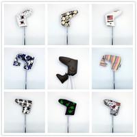 많은 블레이드 골프 퍼터 헤드는 남성 여성용 방수 퍼터 클럽 커버를 덮고 있습니다 201028