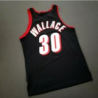 Hombres personalizados para jóvenes Mujeres Vintage Rasheed Wallace Vintage 911 Jersey College Basketball Jersey ST-4XL o CUSTOM Cualquier nombre o número Jersey