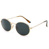 Brand Designer Runde Sonnenbrille Für Männer und Frauen Outdoor Sport Metall Blends Farbe Luxus Sonnenbrille 7 Farben Shades Eyewear