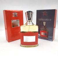 Yeni Creed Aventus Parfüm erkekler için 100 ml Uzun ömürlü zaman ile kaliteli yüksek parfüm kapasite ücretsiz shipping2019