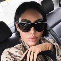 2020 Unisexe Marque Designer Noir One Pièce Lunettes de soleil Femmes Vintage Luxe Cat Masque Verses Sun Verres Pour Femme Homme Shades UV4001