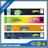 NEW Nerds Nerds corde Emballage vide Bas sac 600mg NerdsRope sacs gommeux à trois foyers de feuille d'étanchéité de bord DHL Free