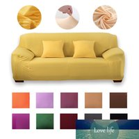 Moderne Sofabezug Spandex-Elastizität für Wohnzimmer L. Shoreder Ecke 1sektional