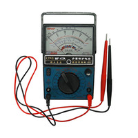 Ly جودة عالية ac dc الكهربائية فولت مقياس متر متعدد التناظرية MF47A Multitester Ampere فولت أوم متر