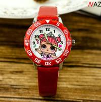 Mode Kids Cartoon Uhr niedlich lol mädchen uhren kinder jelly junge mädchen studenten lederband armbanduhr rosa mädchen uhr