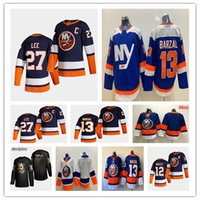 NY Islanders 2021 Reverse Retro Jersey Hóquei Eberle Andrew Ladd Thomas Hickey Anders Lee Mathew Barzal Cal Clutterbuck Matt Martin Pageau