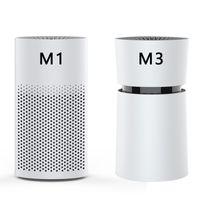 미니 자동차 공기 청정기 이온 발생기 공기 청정제 활성탄과 홈 사무실에서 깨끗한 애완 동물 및 음식 냄새와 함께 M1M3