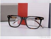 Gafas Acetato Óptico TB-402 Frame Prescripción TB-402A Mujeres TB402 Myopia Ojo Hombres Espectáculo EyeGlasses Gafas Square UTTVK